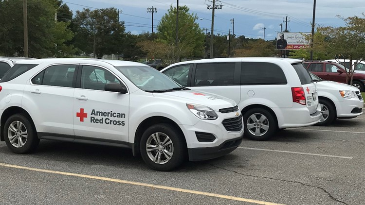 Red Cross preparing for Hurricane Sally