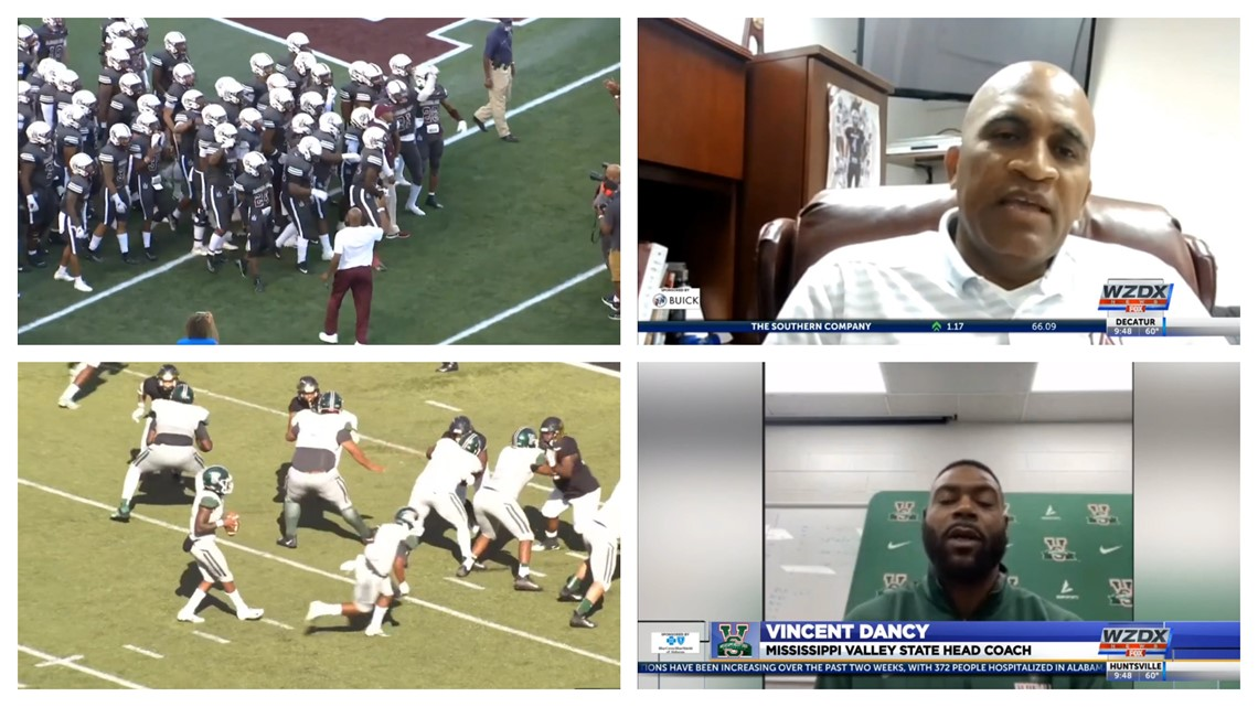 Connell Maynor & Vincent Dancy preview Saturday's AAMU-MVSU game