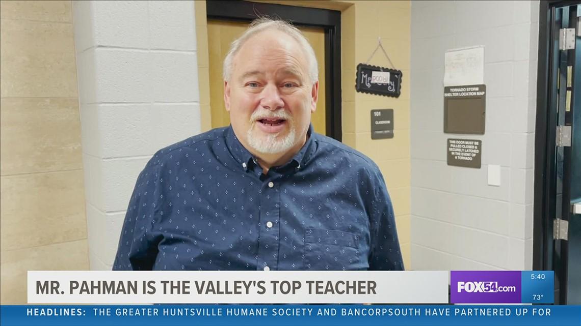Mr. Nate Pahman is the Valley's Top Teacher