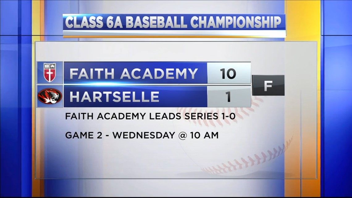 Hartselle falls to Faith Academy in Game 1 of the AHSAA 6A Championship Series