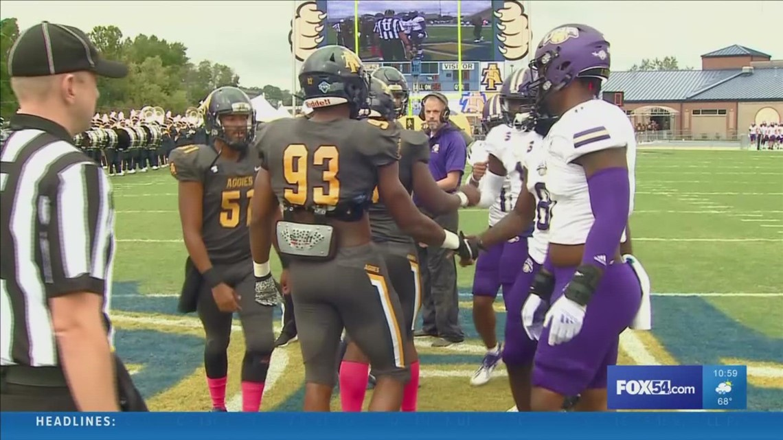 Fowler's quick strike rallies N.C. A&T past North Alabama, 38-34