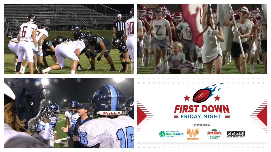 First Down Friday Night Week 8: October 15th, 2021