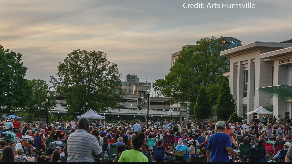 Concerts in the park are back!