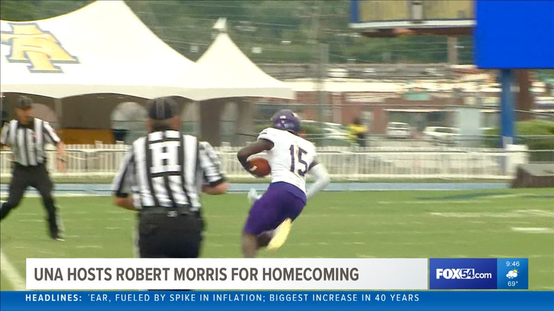 UNA preps for Homecoming bout with Robert Morris