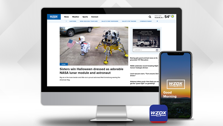 Download the WZDX News app for news and weather on the go