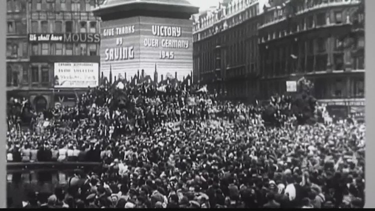 The 75th anniversary of VE Day, when Germany surrendered in WWII