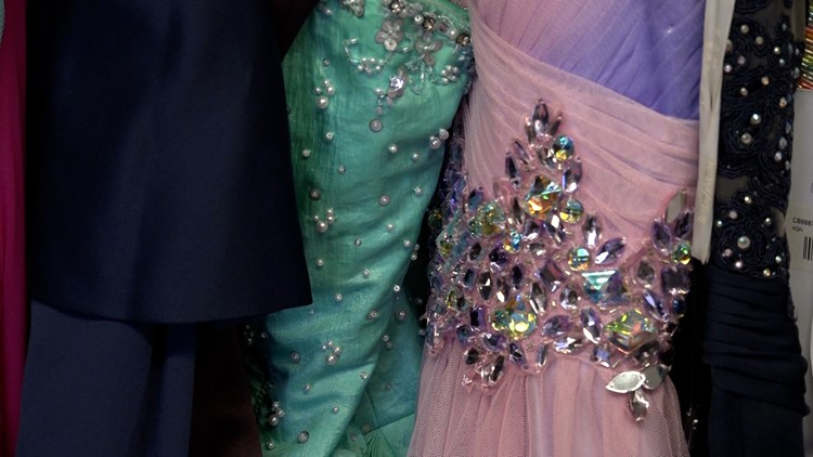 Local radio personality helps young women find the perfect prom dress