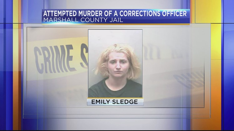 Inmate charged with attempted murder after allegedly attacking corrections officer with scissors