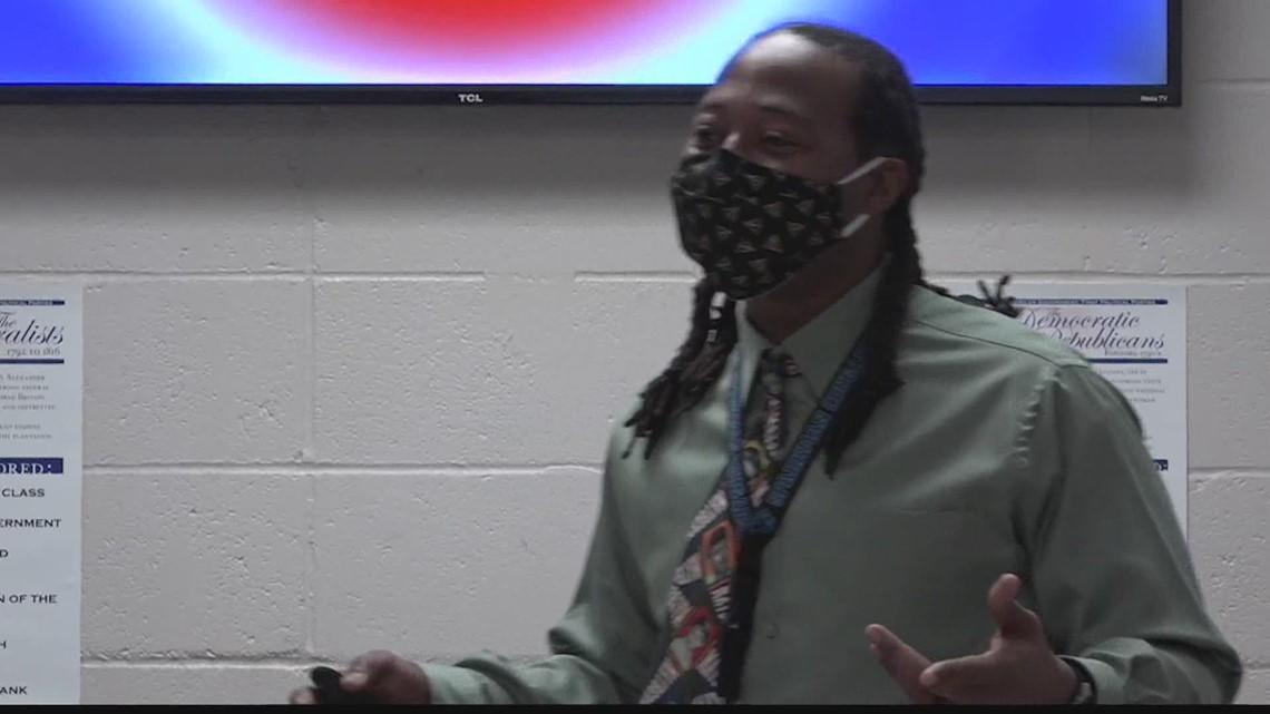 Mr. James Norman is the Valley's Top Teacher