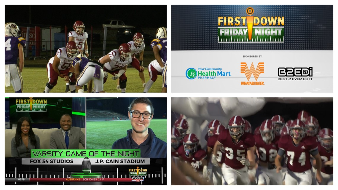 First Down Friday Night Week Five - Sept. 24th, 2021