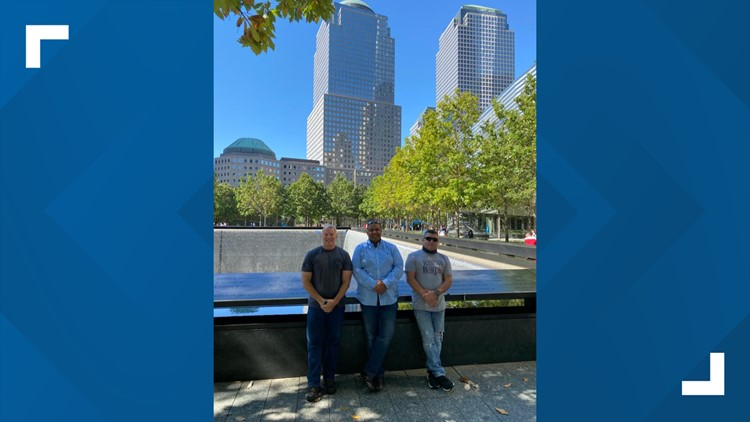 Madison police officers deployed to NYC after 9/11 reunites at ground zero