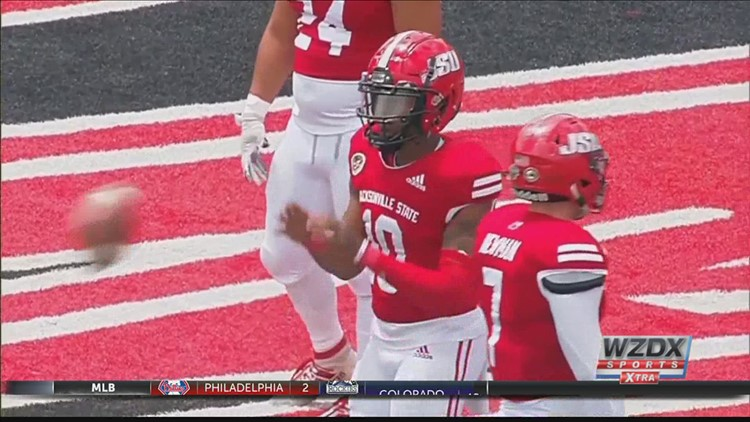 Jacksonville State runs past Davidson in opening round of FCS Playoffs (Highlights)