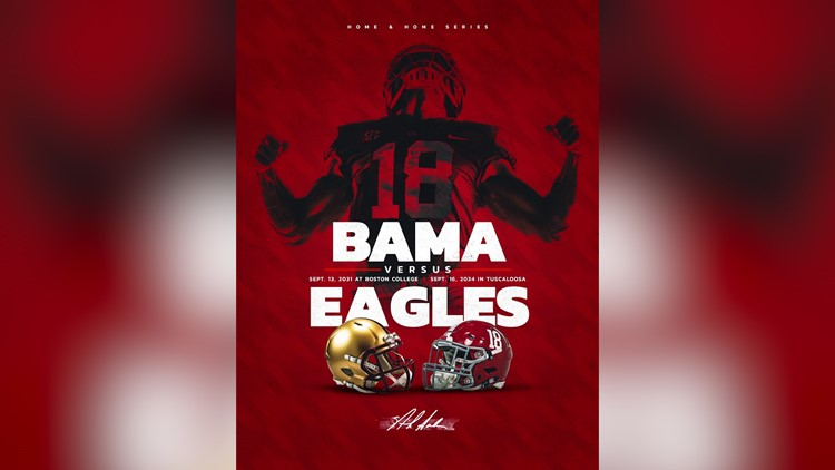 Alabama and Boston College Schedule Home-and-Home Football Series