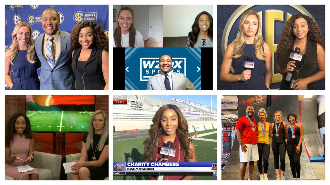 WZDX Sports Team says farewell to Charity Chambers