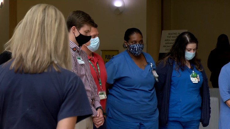 Alabama Hospital Association honors those we lost to COVID pandemic with a moment of silence
