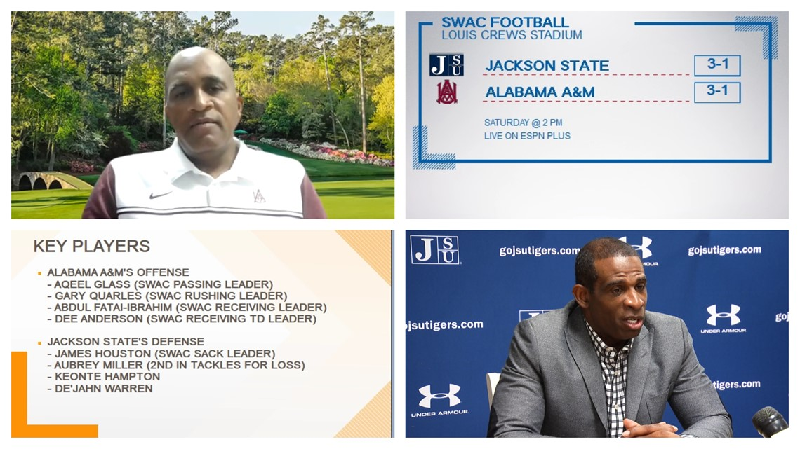 Coach Maynor and Sanders talk about AAMU's offense against Jackson State's defense