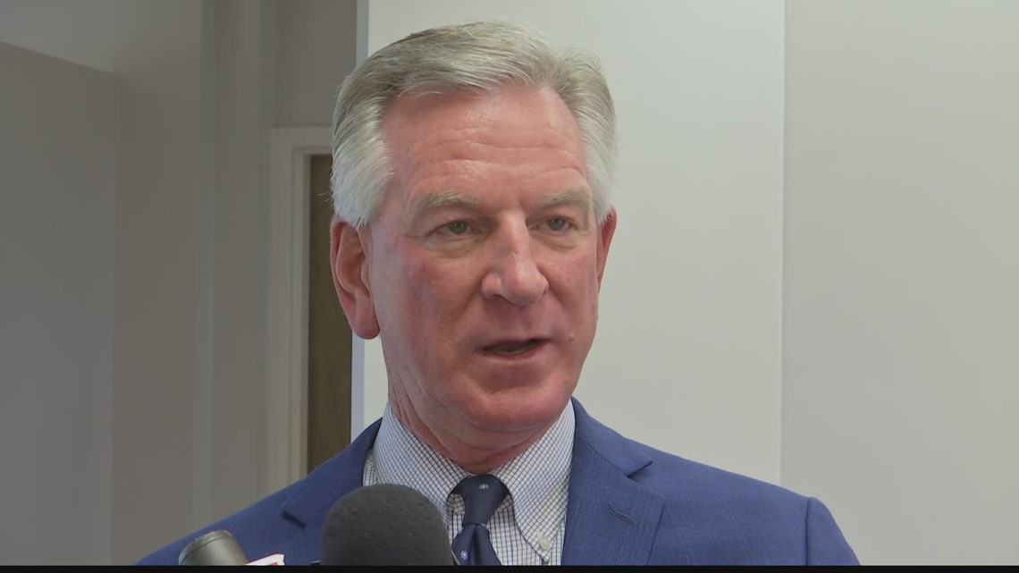 Sen. Tommy Tuberville says 'We're being overrun' at the US-Mexico border