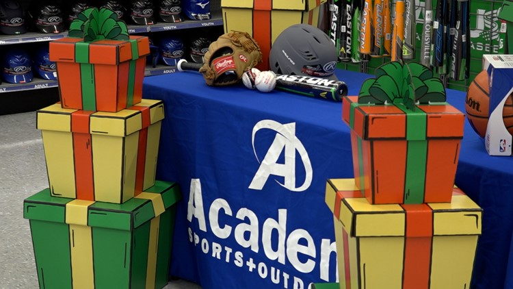 Local Boys & Girls get a $2,000 shopping spree to Academy!