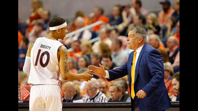 Auburn drops two spots in AP Top 25 basketball poll