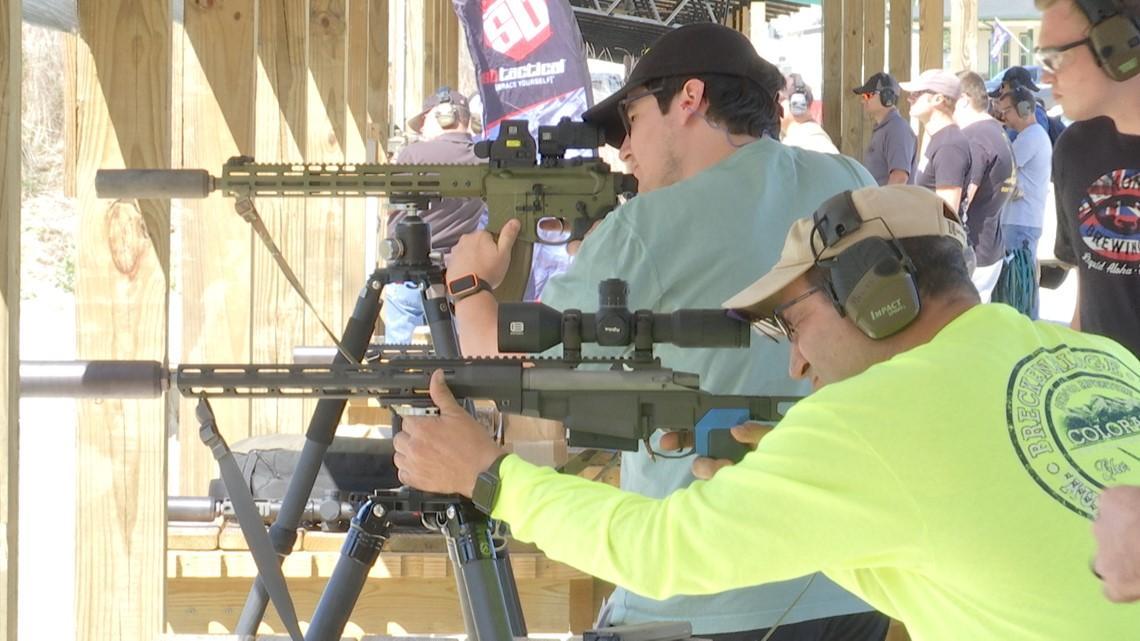 Dozens participate in road trip shooting event