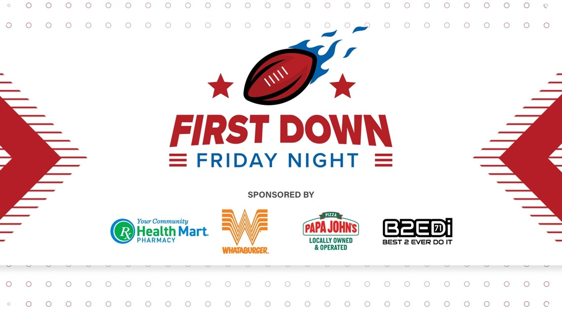 First Down Friday Night Week 9 - Oct 22nd, 2021
