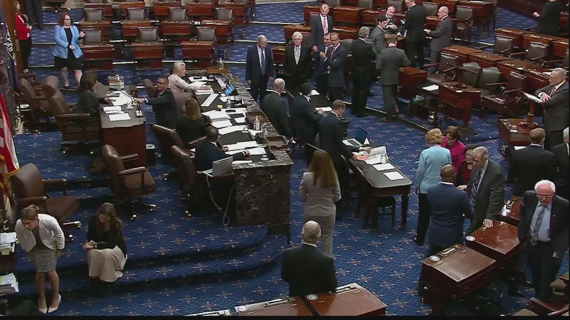Republican filibuster blocks For The People Act voting bill