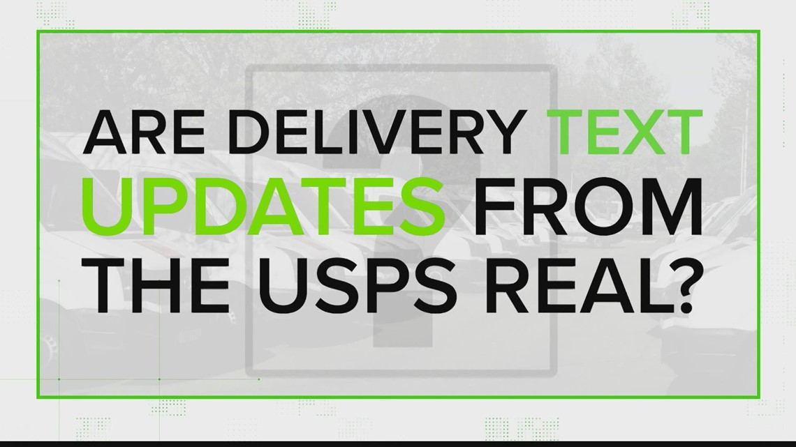 VERIFY: Are delivery text updates really from the US Postal Service?
