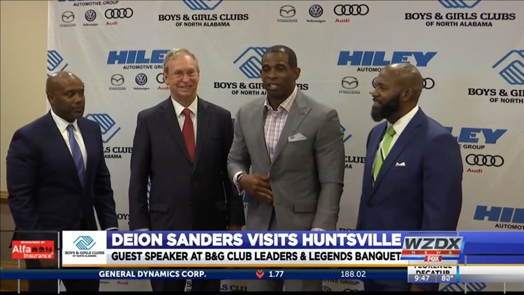 2021 Leaders and Legends Banquet featured Deion Sanders