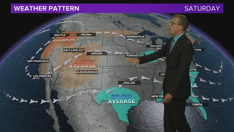 Weather forecast Thursday, May 13, 2021